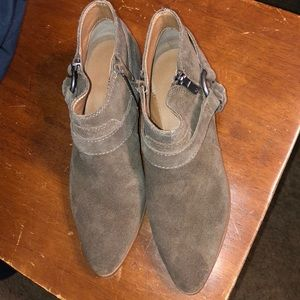 Lucky brand Enitha suede Olive boot